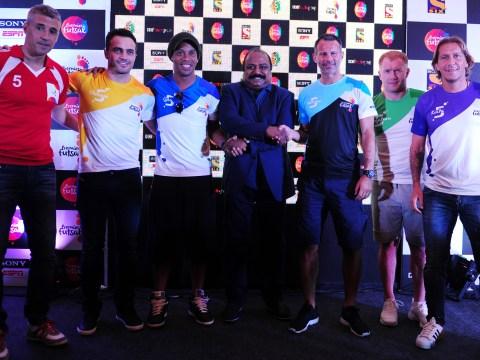 Manchester United legend Ryan Giggs joins Ronaldinho in Indian Futsal League