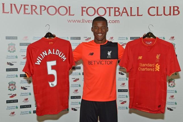 detailed look 488cc 1ca88 Liverpool news: Georginio Wijnaldum explains his lucky shirt ...