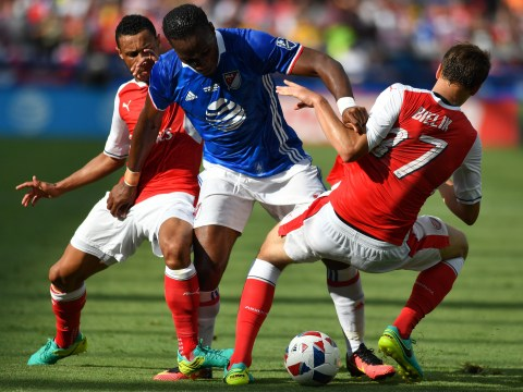 Didier Drogba scores and torments Arsenal once again, but the Gunners go on to beat an MLS All-Star XI 2-1