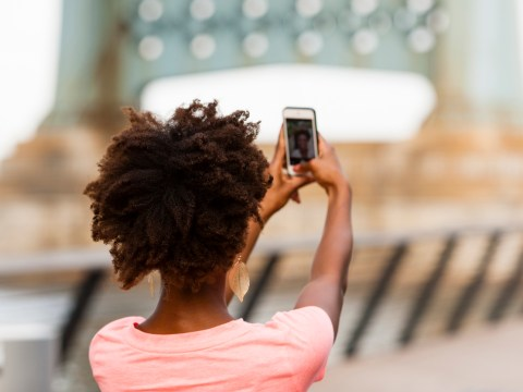 Sorry guys, but taking selfies is ruining your skin