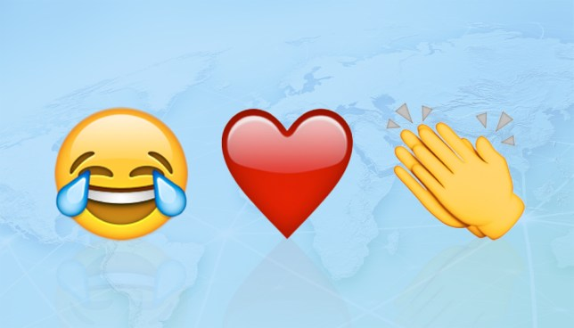 Twitter reveals the most popular emoji around the world Credit: Getty Images/Metro
