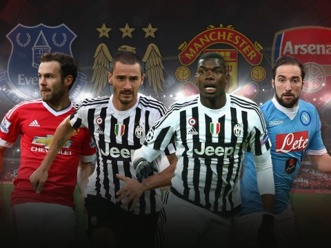 Paul Pogba to Manchester United and Gonzalo Higuain to Arsenal: 10 big transfers we want to see this month