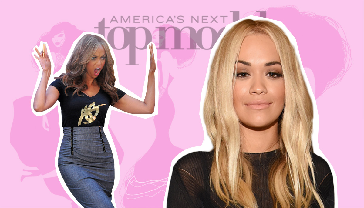 Rita Ora replaces Tyra Banks as the host of America's Next Top model