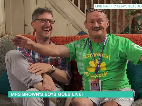This is how many people applied for tickets for the live episode of Mrs Brown's Boys…