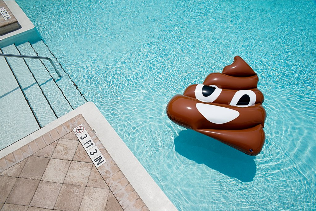 You'll Be The Coolest Kid At The Pool With These Emoji-Shaped Floats Credit: thrice.com