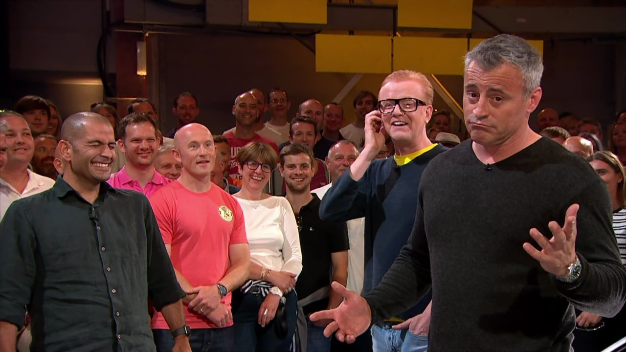 Chris Harris, Chris Evans and Matt LeBlanc presenting the sixth and final edition of the revamped 'Top Gear'. Broadcast on BBC2 HD. Featuring: Chris Harris, Chris Evans, Matt LeBlanc Where: United Kingdom When: 03 Jul 2016 Credit: Supplied by WENN **WENN does not claim any ownership including but not limited to Copyright, License in attached material. Fees charged by WENN are for WENN's services only, do not, nor are they intended to, convey to the user any ownership of Copyright, License in material. By publishing this material you expressly agree to indemnify, to hold WENN, its directors, shareholders, employees harmless from any loss, claims, damages, demands, expenses (including legal fees), any causes of action, allegation against WENN arising out of, connected in any way with publication of the material.**