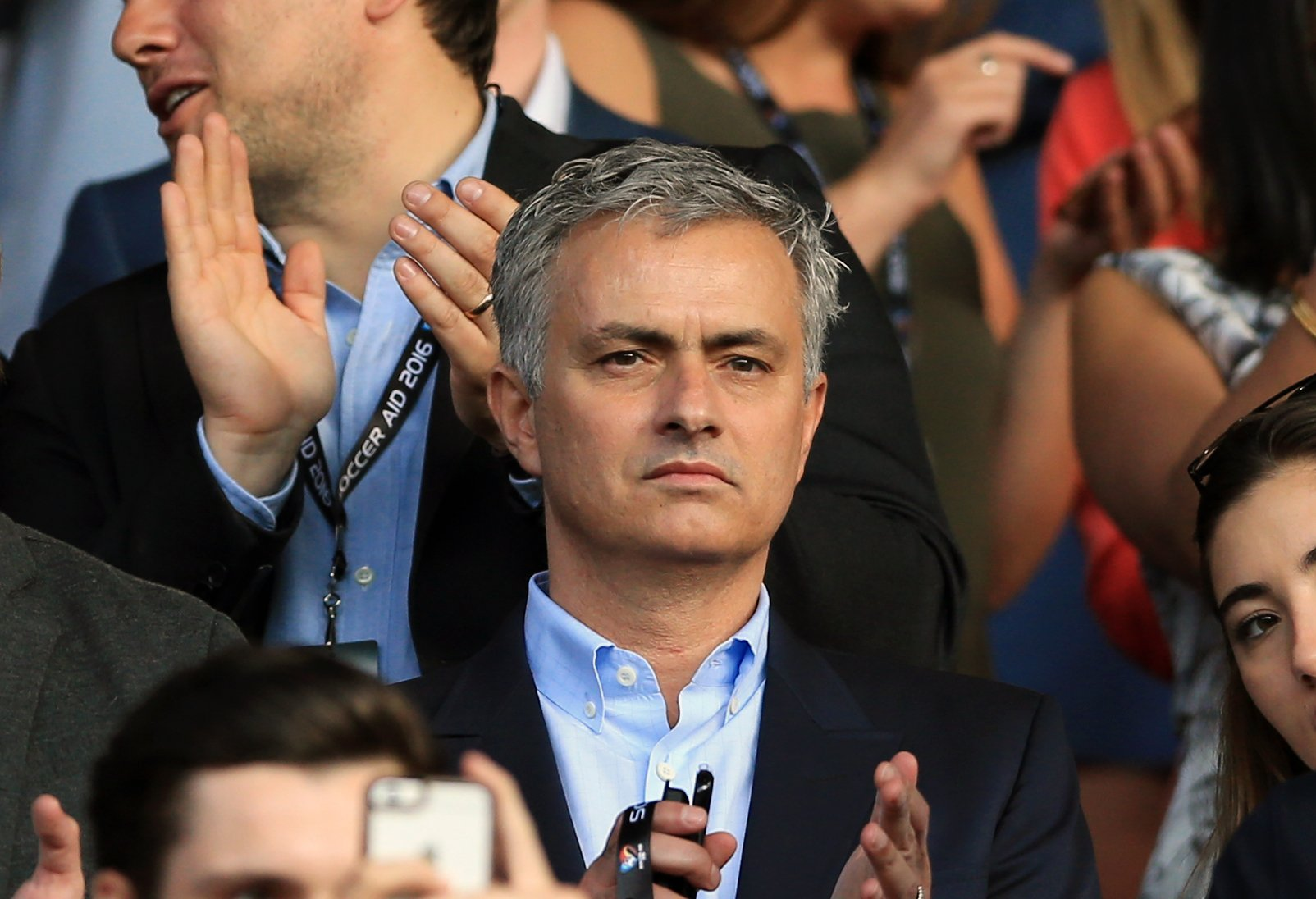 File photo dated 05-06-2016 of Jose Mourinho. PRESS ASSOCIATION Photo. Issue date: Monday July 4, 2016. Jose Mourinho on Monday will set about rebuilding his and Manchester United's reputation on his first official day as manager. See PA story SOCCER Man Utd. Photo credit should read Nigel French/PA Wire.