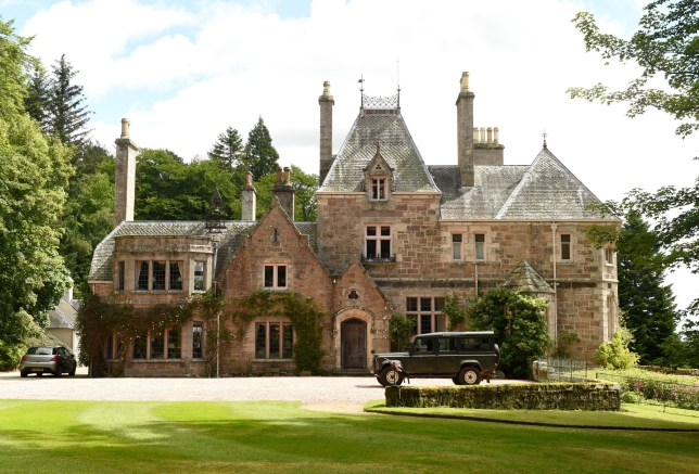 Fee £75 for online. Print fee : £150 per image David Cameron to move to Scotland. The defeated Prime Minsiter is said to be eyeing the Tillypronie estate in Aberdeenshire as a resignation bolt-hole. The 15,000-acre property near Tarland has family links to Cameron's wife Samantha. And there are rumours the couple could move there after leaving Downing Street this year. David Cameron rumoured to be buying the Tillypronie Estate in Tarland. GV's of Tillypronie Estate. ***NOTE PHOTOS TAKEN ON THE GROUNDS*** Pictured is the house on the estate.