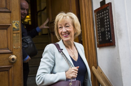 Andrea Leadsom was 'part-time assistant, not a banker,' says ex-colleaue LONDON, ENGLAND - JULY 07: Andrea Leadsom, British Energy Secretary and Conservative Party leadership contender, leaves her home to go to a campaign rally on July 7, 2016 in London, England. Ms Leadsom is in the race to lead the Conservative party after British Prime Minister David Cameron announced he would be standing down. Conservative MPs will today take part in a second round of voting whittling the contenders for the Leadership down to just two. (Photo by Jack Taylor/Getty Images)