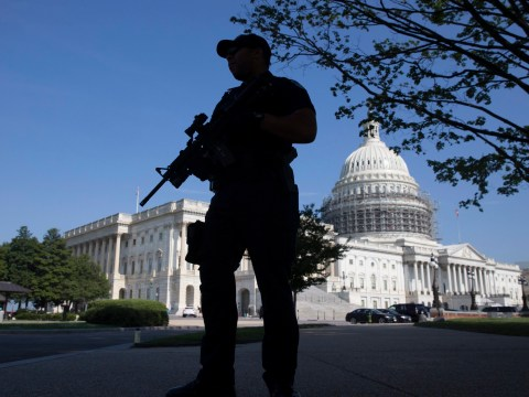 US Capitol building put on lockdown after 'gunman spotted inside'