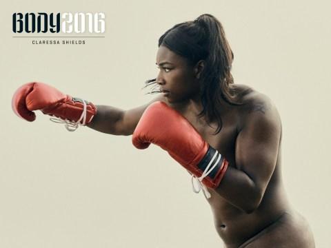 Naked photoshoot proves even professional athletes struggle with body image issues