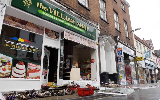 AN EASTERN European food shop has been gutted in a devastating fire attack in the early hours today (Fri). ..The arson assault on the Romanian store in Norwich comes after a string of attacks on foreign businesses and immigrants nationwide since the Brexit vote to leave the EU a fortnight ago...Fire service experts and detectives have launched a joint investigation into the shocking incident as police hunt the attackers...