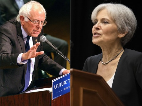 Candidate steps aside to allow Bernie Sanders to run for President on her ticket