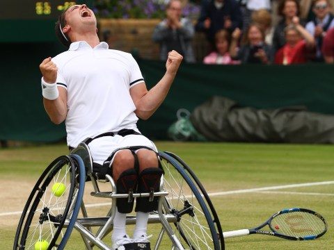 Gordon Reid makes history as he becomes first ever winner of the men's wheelchair singles at Wimbledon