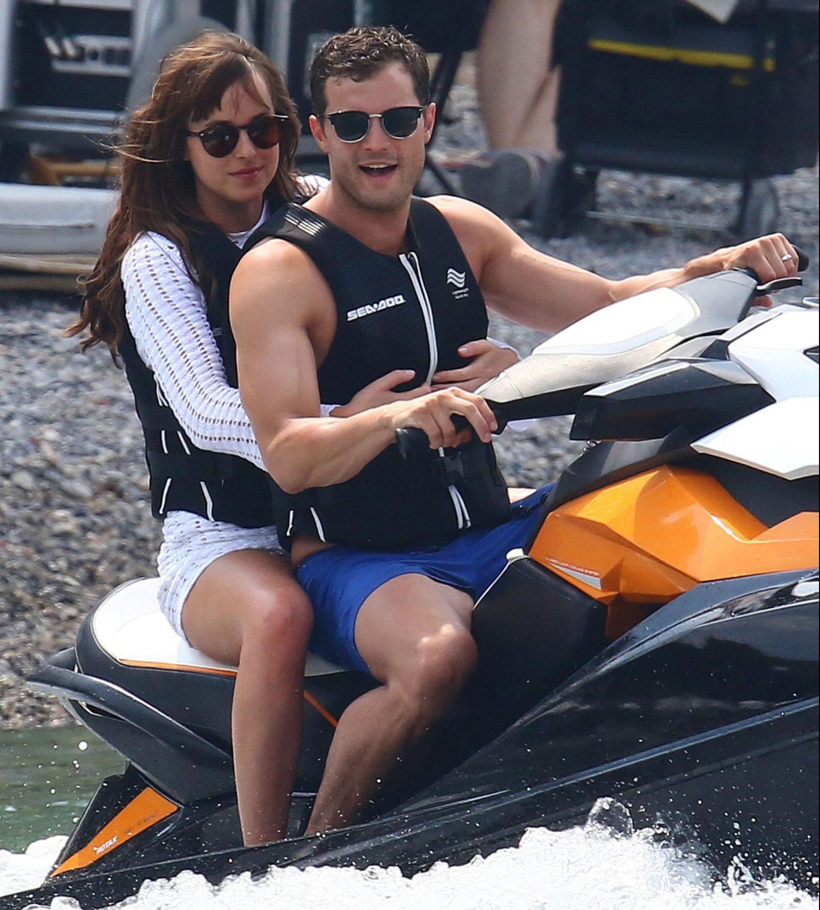 Fifty Shades Darker filming in Nice may be suspended following terrorist attack
