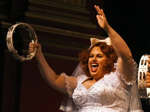 Rebel Wilson has received rave reviews for Guys And Dolls despite being 'faintly terrifying'