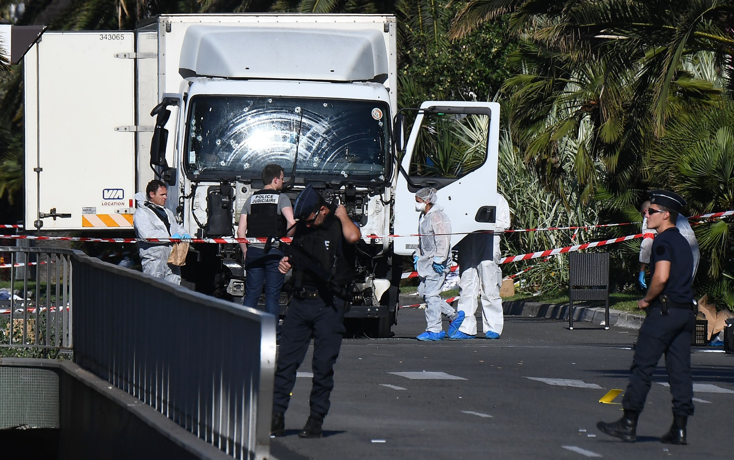 Nice attack: Hero 'halted rampage by jumping into lorry and wrestling gunman'
