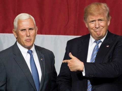 Trump picks anti-LGBT running mate, unveils extremely homoerotic logo