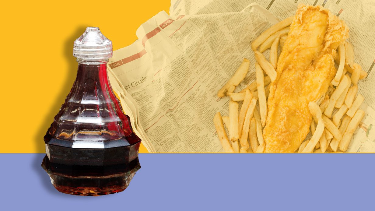 bottle of vinegar/getty images