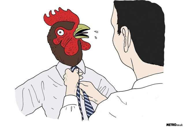 choking the chicken