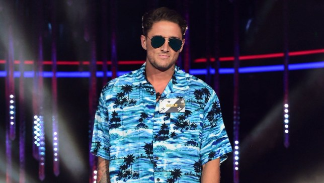 Stephen Bear is seen entering the Celebrity Big Brother house at Elstree Studios in Borehamwood, Herfordshire. PRESS ASSOCIATION Photo. Picture date: Thursday July 28, 2016. See PA story SHOWBIZ CBB. Photo credit should read: Ian West/PA Wire