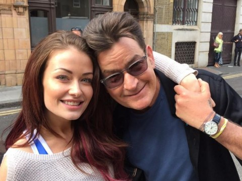 Jess Impiazzi gushes about her burgeoning relationship with HIV-positive Charlie Sheen for the first time
