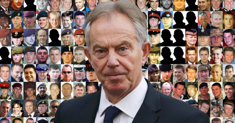 Chilcot: Tony Blair ripped to pieces over Iraq War 'flawed intelligence'