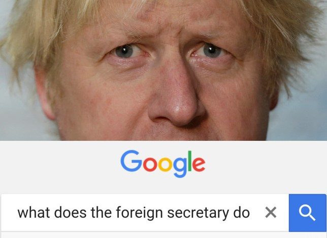This is what the world thinks of us now. US govt spokesman laughs when he finds out Bojo is foreign sec