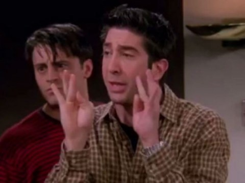 Matt LeBlanc broke character in this Friends scene and we've only just realised