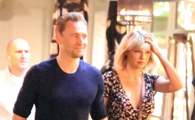Taylor Swift and Tom Hiddleston go for dinner (Picture: Xposurephotos.com)