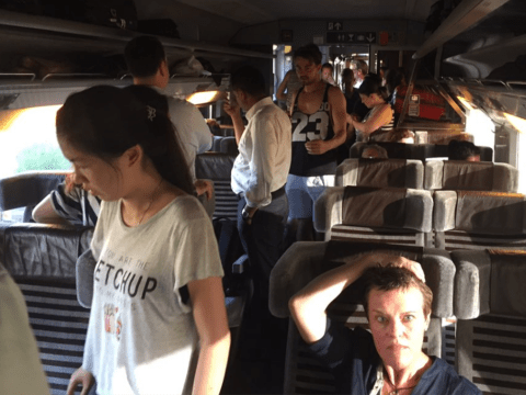 Struggling in the heat? At least you weren't on this broken down Eurostar train