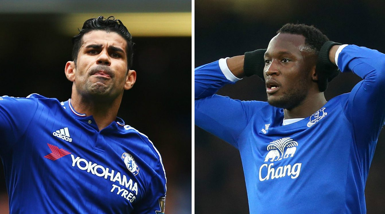Diego Costa vs Romelu Lukaku stats suggest Chelsea would not be signing a major upgrade