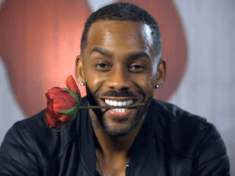 Richard Blackwood complains he was given a '10' and not an '8' on Celebrity First Dates