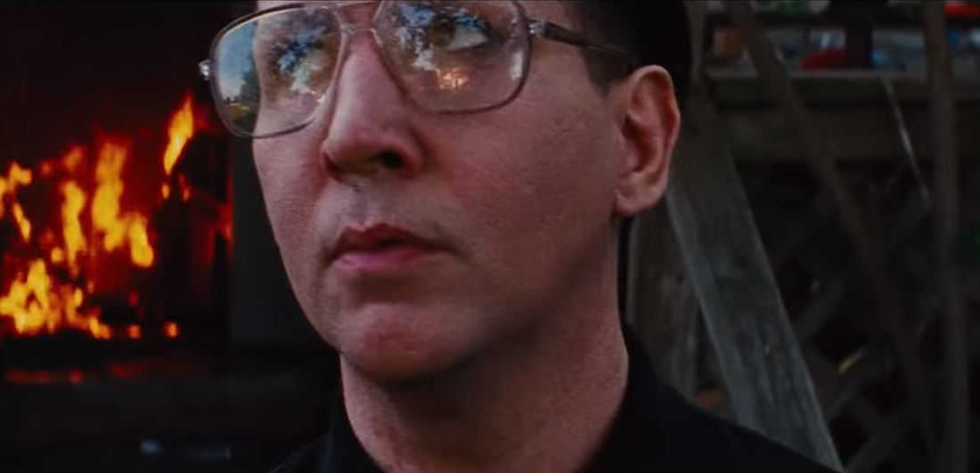 Marilyn Manson plays a terrifying hit man in tense scene from his upcoming movie