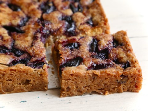 National Cherry Day: A delicious and easy recipe for rum cherry white chocolate blondies