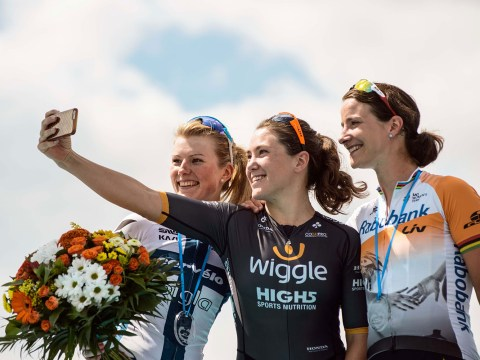 Elite cyclist Chloe Hosking: 'The great thing about cycling is how social it is'
