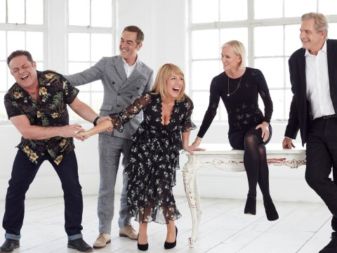 Here's the first official photo from the new series of Cold Feet