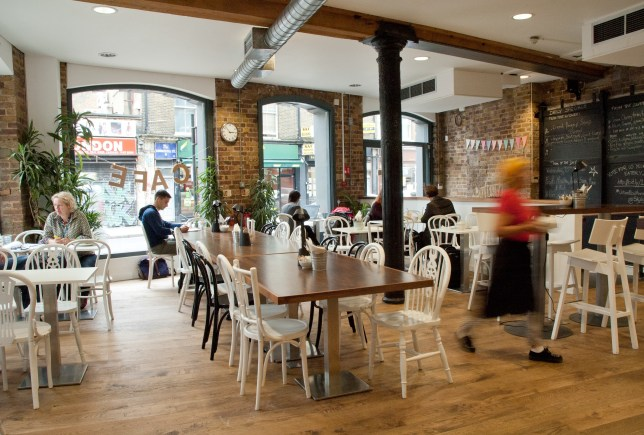 Crisis Cafe Interior