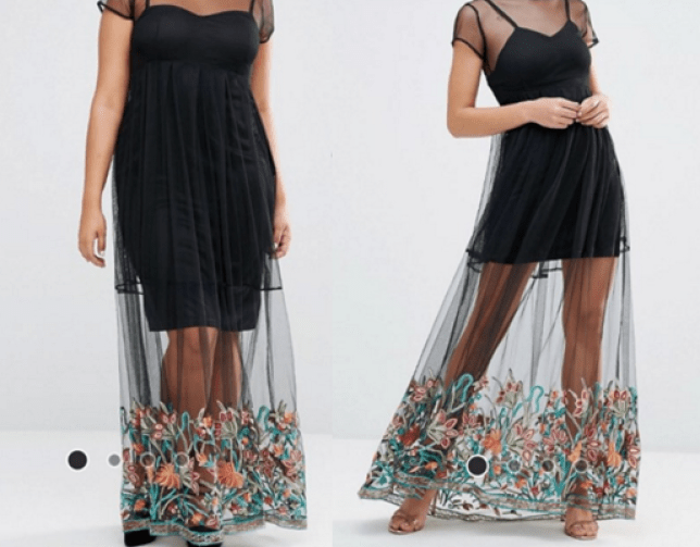 6da94fdb120fc Plus size dresses cost more at ASOS and people are pissed | Metro News