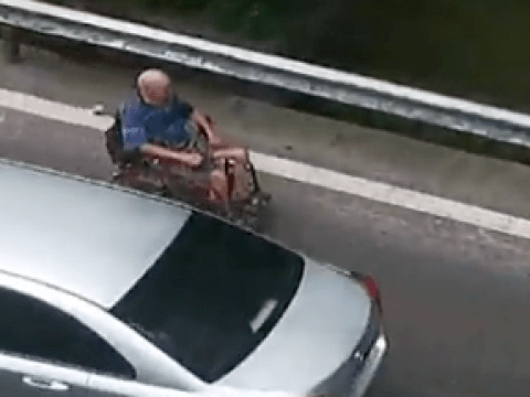 Man, 80, in electric wheelchair ends up on motorway by mistake