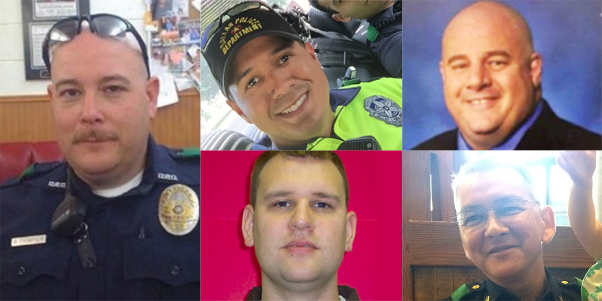 These are the stories behind the five officers killed in Dallas shooting
