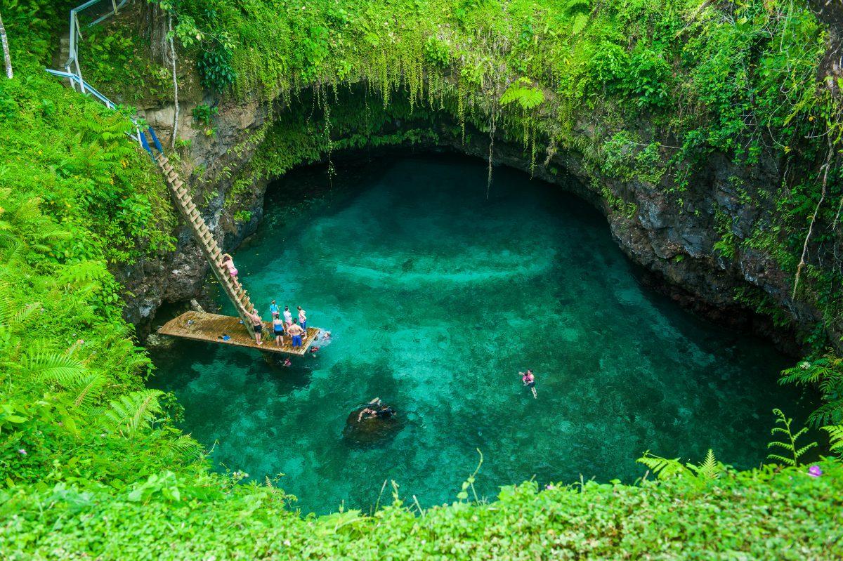 Beautiful swimming holes around the world