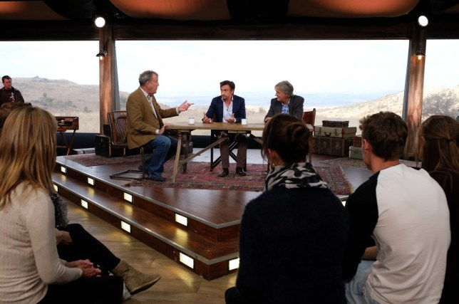 Jeremy Clarkson, Richard Hammond and James May (Picture: Amazon Prime)