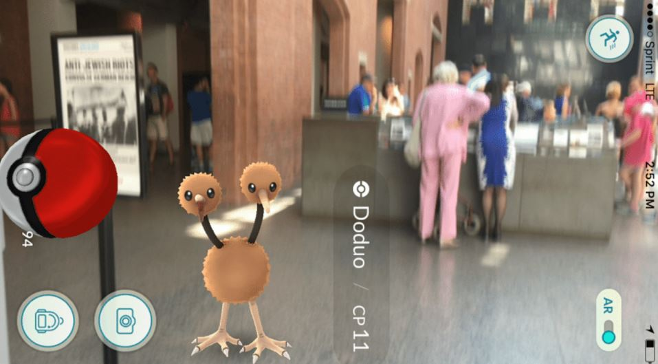 People have been playing Pokemon Go at the Holocaust museum