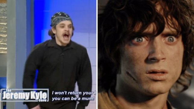 Frodo appeared on The Jeremy Kyle Show? (Picture: ITV/New Line Cinema)