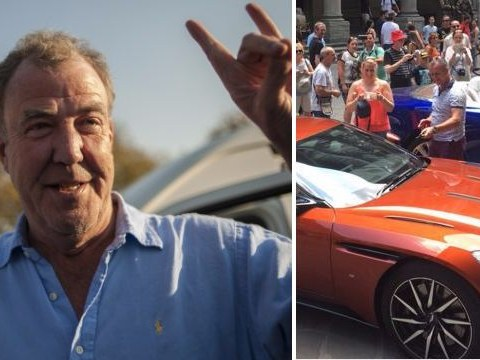Jeremy Clarkson sparks new blue and black dress debate: Is his car brown or orange?
