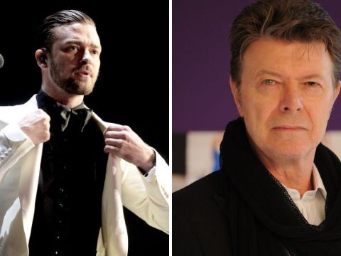 Justin Timberlake says SexyBack was inspired by the late David Bowie