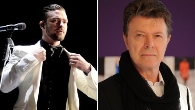 Justin Timberlake was influenced by David Bowie for SexyBack (Picture: Getty)