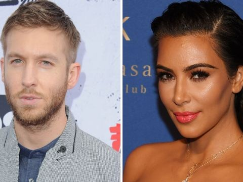Calvin Harris and Kim Kardashian continue the Taylor Swift bashing by rapping Kanye West songs