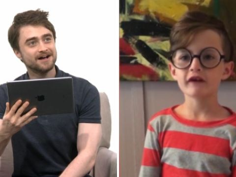 Kids interviewing Daniel Radcliffe about Harry Potter is the cutest thing you'll watch today